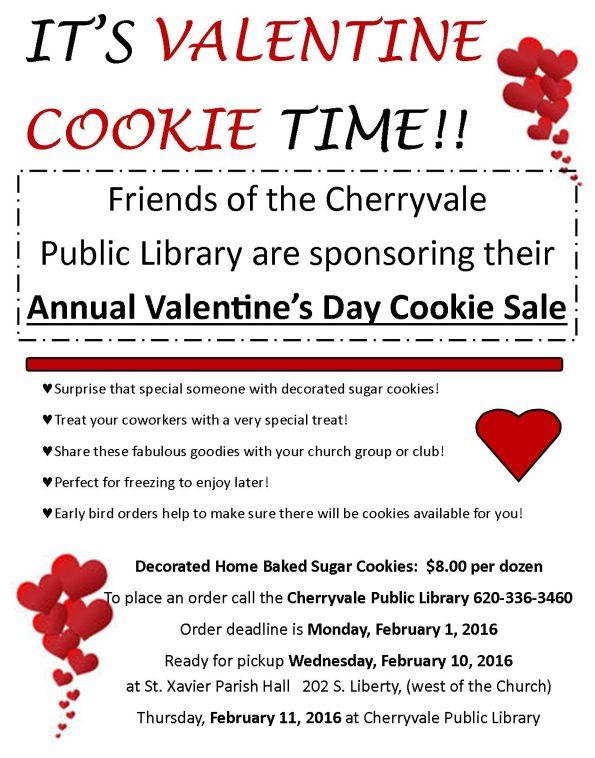 Valentine Cookies Monday