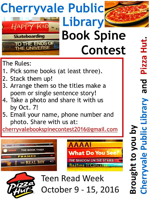 Book Spine Contest