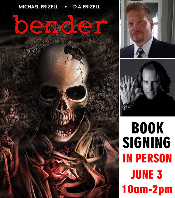 Bender Book Signing